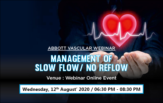 Management of slow Flow/ No Reflow