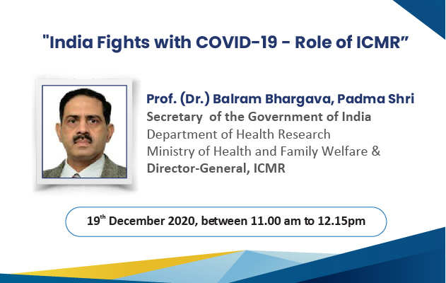 India Fights with COVID19 – Role Of ICMR
