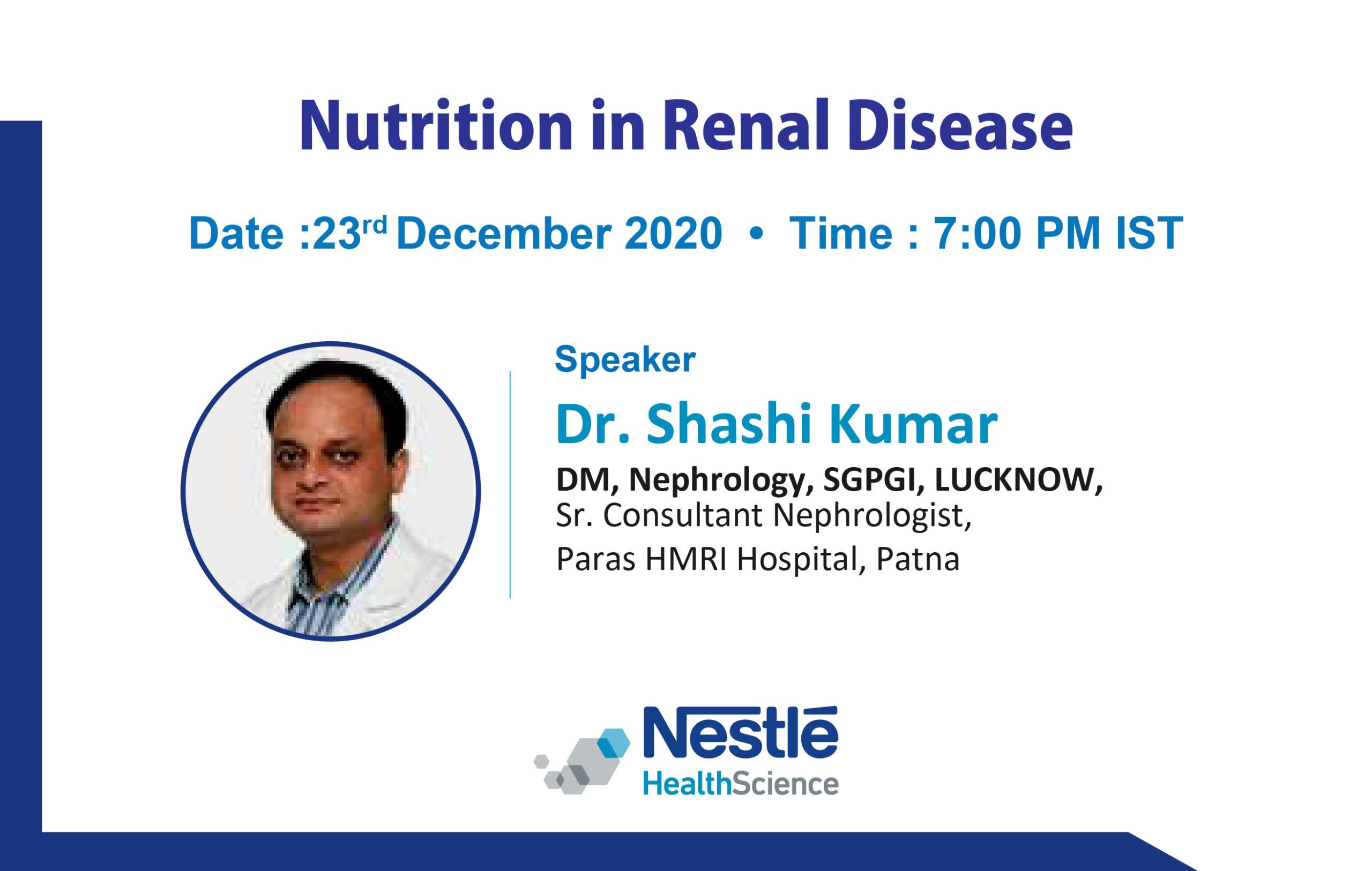 Nutrition in Renal Disease