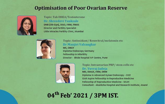 Optimisation of Poor Ovarian Reserve