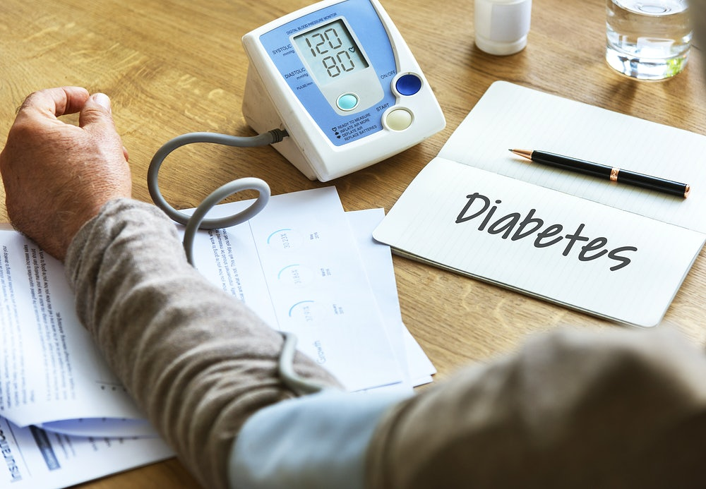 What is the relationship between Type 2 Diabetes & High Blood Pressure.