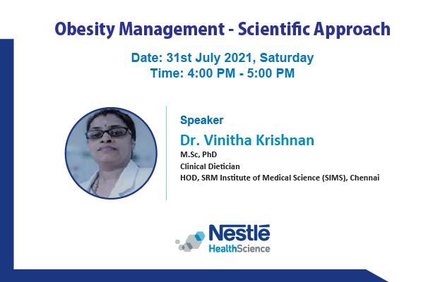 Obesity Management – Scientific Approach