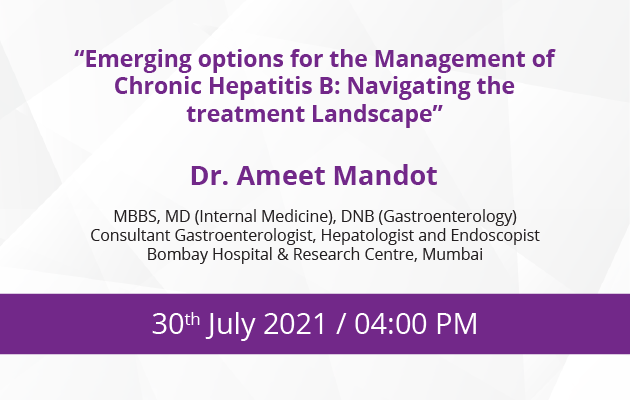 Emerging option for the management of chronic Hepatitis B: Navigating the treatment landscape
